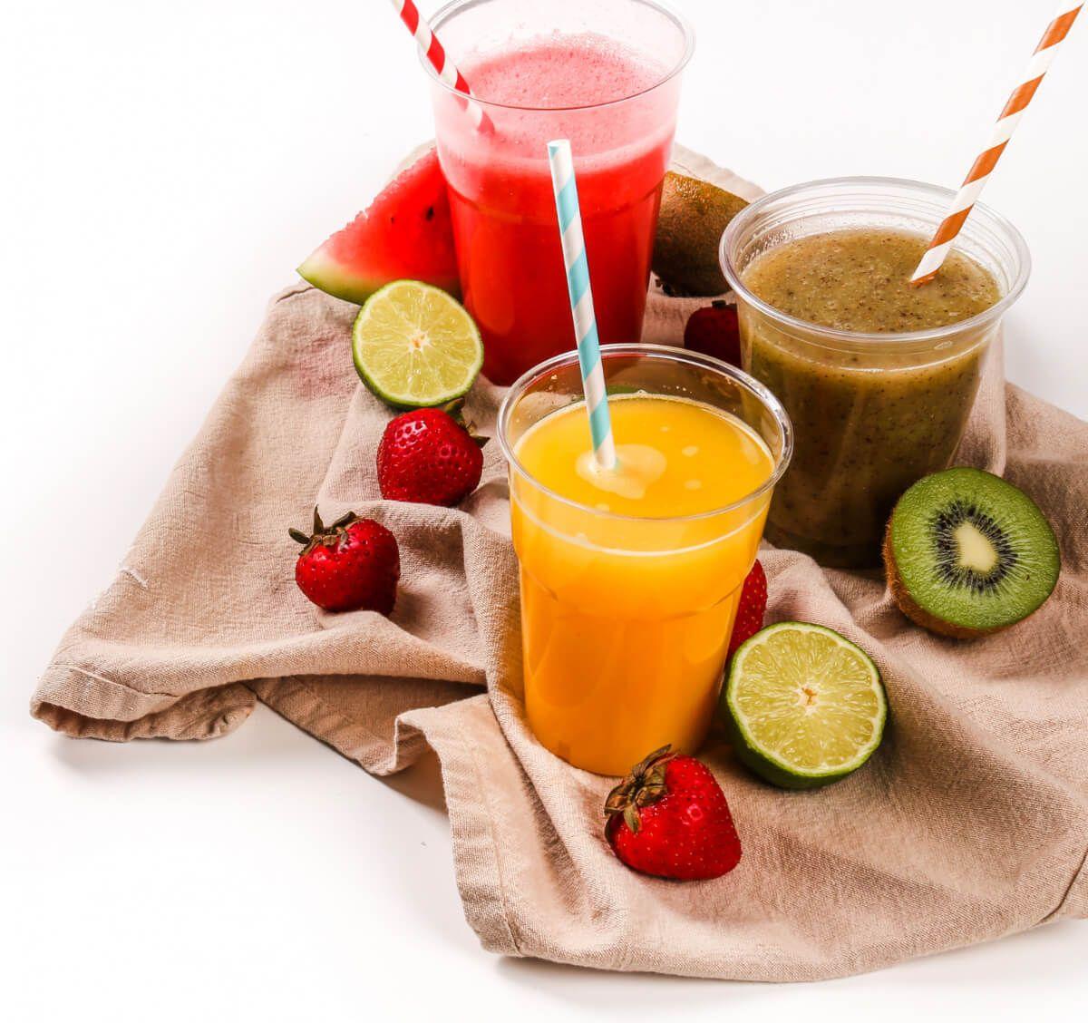 Soki owocowe. Zależność: dieta względem nadwagi